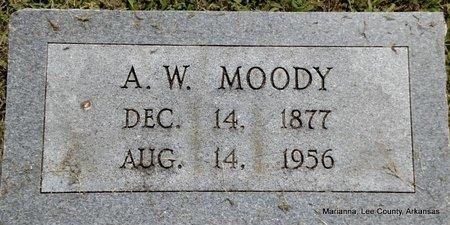 MOODY, A W - Lee County, Arkansas   A W MOODY - Arkansas Gravestone Photos