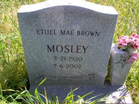 MOSLEY, ETHEL MAE - Lee County, Arkansas   ETHEL MAE MOSLEY - Arkansas Gravestone Photos