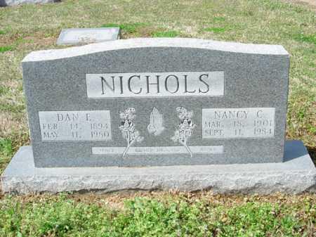 NICHOLS, DAN E. - Lee County, Arkansas   DAN E. NICHOLS - Arkansas Gravestone Photos