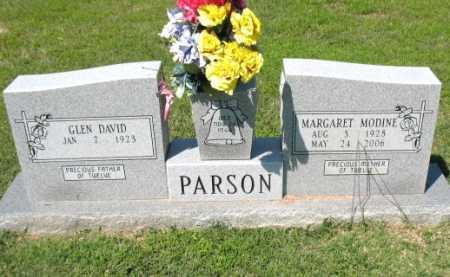 PARSON, MARGARET MODINE - Lee County, Arkansas | MARGARET MODINE PARSON - Arkansas Gravestone Photos