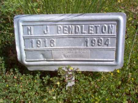 PENDLETON, M J - Lee County, Arkansas   M J PENDLETON - Arkansas Gravestone Photos