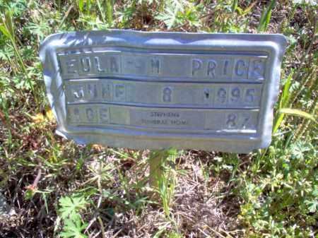 PRICE, EULA M - Lee County, Arkansas | EULA M PRICE - Arkansas Gravestone Photos