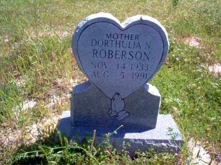ROBERSON, DORTHULIA N - Lee County, Arkansas | DORTHULIA N ROBERSON - Arkansas Gravestone Photos
