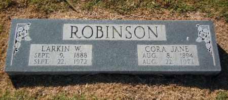 DAUGHTREY ROBINSON, CORA JANE - Lee County, Arkansas | CORA JANE DAUGHTREY ROBINSON - Arkansas Gravestone Photos