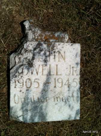 ROWELL, JR, JOHN - Lee County, Arkansas | JOHN ROWELL, JR - Arkansas Gravestone Photos