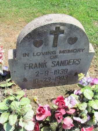 SANDERS, FRANK - Lee County, Arkansas | FRANK SANDERS - Arkansas Gravestone Photos