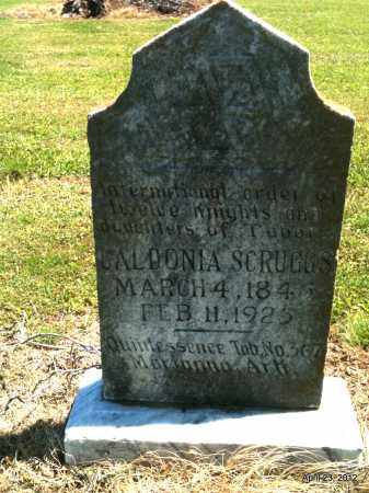 SCRUGGS, CALDONIA - Lee County, Arkansas | CALDONIA SCRUGGS - Arkansas Gravestone Photos