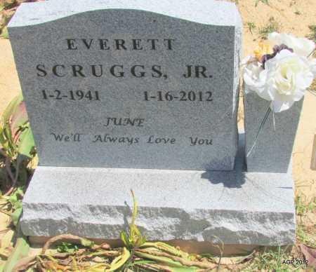 "SCRUGGS, JR, EVERETT ""JUNE"" - Lee County, Arkansas | EVERETT ""JUNE"" SCRUGGS, JR - Arkansas Gravestone Photos"