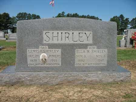 SHIRLEY, ELLA W - Lee County, Arkansas | ELLA W SHIRLEY - Arkansas Gravestone Photos