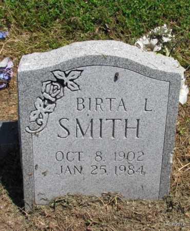 SMITH, BIRTA L - Lee County, Arkansas | BIRTA L SMITH - Arkansas Gravestone Photos