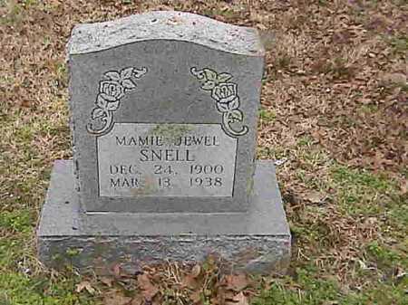 SNELL, MAMIE JEWELL - Lee County, Arkansas   MAMIE JEWELL SNELL - Arkansas Gravestone Photos