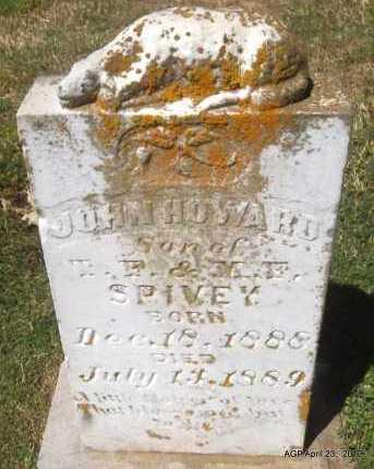 SPIVEY, JOHN HOWARD - Lee County, Arkansas | JOHN HOWARD SPIVEY - Arkansas Gravestone Photos