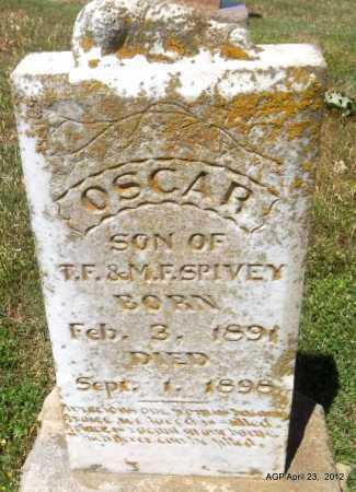 SPIVEY, OSCAR - Lee County, Arkansas | OSCAR SPIVEY - Arkansas Gravestone Photos