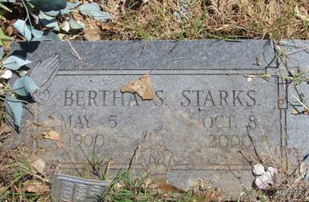 STARKS, BERTHA S - Lee County, Arkansas | BERTHA S STARKS - Arkansas Gravestone Photos