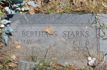 STARKS, BERTHA S - Lee County, Arkansas | BERTHA S STARKS - Arkansas Gravestone Photos