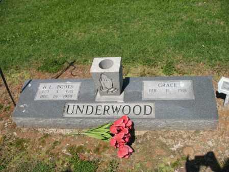SHIRLEY UNDERWOOD, GRACE - Lee County, Arkansas | GRACE SHIRLEY UNDERWOOD - Arkansas Gravestone Photos