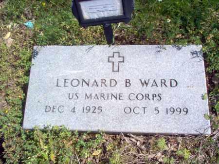 WARD (VETERAN), LEONARD B - Lee County, Arkansas | LEONARD B WARD (VETERAN) - Arkansas Gravestone Photos