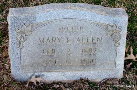 ALLEN, MARY E - Lincoln County, Arkansas | MARY E ALLEN - Arkansas Gravestone Photos