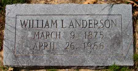 ANDERSON, WILLIAM L - Lincoln County, Arkansas | WILLIAM L ANDERSON - Arkansas Gravestone Photos