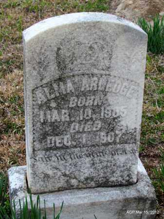 ARLEDGE, ALMA - Lincoln County, Arkansas   ALMA ARLEDGE - Arkansas Gravestone Photos
