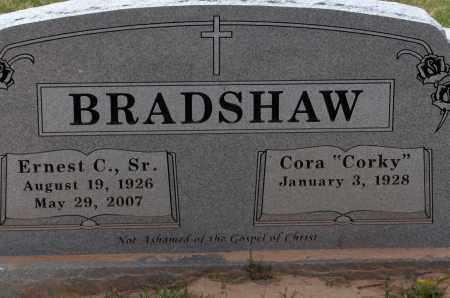 BRADSHAW, SR, ERNEST C., - Lincoln County, Arkansas   ERNEST C., BRADSHAW, SR - Arkansas Gravestone Photos