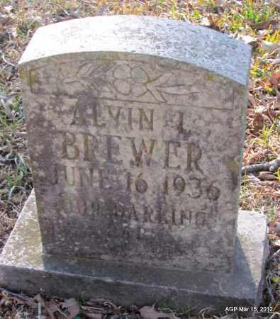 BREWER, ALVIN L - Lincoln County, Arkansas   ALVIN L BREWER - Arkansas Gravestone Photos