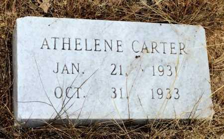 CARTER, ATHELENE - Lincoln County, Arkansas | ATHELENE CARTER - Arkansas Gravestone Photos