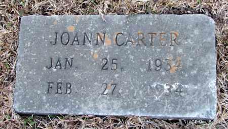 CARTER, JOANN - Lincoln County, Arkansas | JOANN CARTER - Arkansas Gravestone Photos