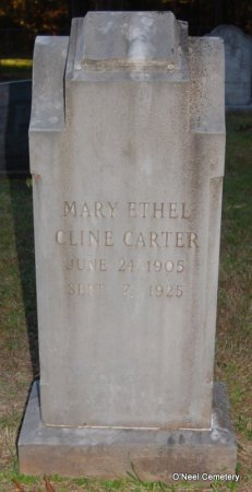 CARTER, MARY ETHEL - Lincoln County, Arkansas | MARY ETHEL CARTER - Arkansas Gravestone Photos