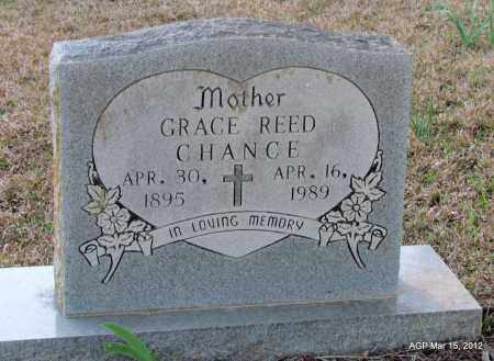 REED CHANCE, GRACE - Lincoln County, Arkansas | GRACE REED CHANCE - Arkansas Gravestone Photos
