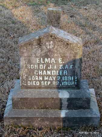 CHANDLER, ELMA E - Lincoln County, Arkansas | ELMA E CHANDLER - Arkansas Gravestone Photos