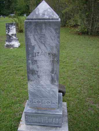 CUNNINGHAM, ELIZABETH - Lincoln County, Arkansas | ELIZABETH CUNNINGHAM - Arkansas Gravestone Photos