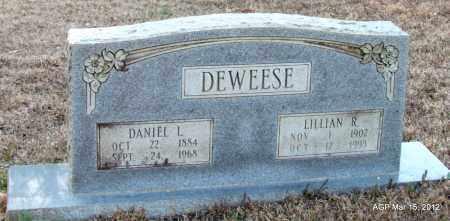 DEWEESE, DANIEL L - Lincoln County, Arkansas   DANIEL L DEWEESE - Arkansas Gravestone Photos