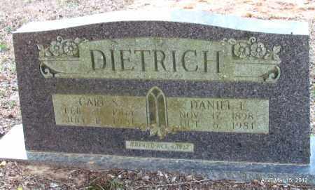 DIETRICH, DANIEL L - Lincoln County, Arkansas | DANIEL L DIETRICH - Arkansas Gravestone Photos