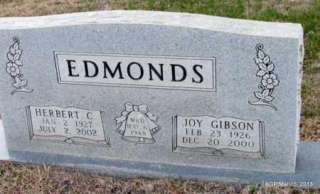 GIBSON EDMONDS, JOY - Lincoln County, Arkansas | JOY GIBSON EDMONDS - Arkansas Gravestone Photos