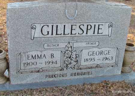 GILLESPIE, EMMA B - Lincoln County, Arkansas | EMMA B GILLESPIE - Arkansas Gravestone Photos