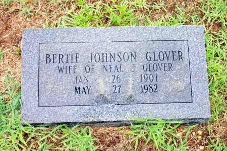 JOHNSON GLOVER, BERTIE - Lincoln County, Arkansas | BERTIE JOHNSON GLOVER - Arkansas Gravestone Photos