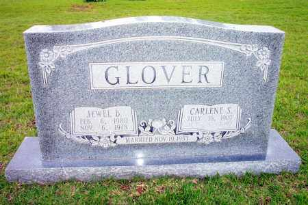 SOKES GLOVER, CARLENE - Lincoln County, Arkansas | CARLENE SOKES GLOVER - Arkansas Gravestone Photos