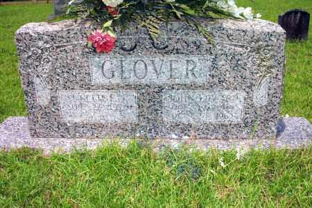GLOVER, JOHN EDWARD - Lincoln County, Arkansas   JOHN EDWARD GLOVER - Arkansas Gravestone Photos