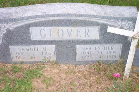 GLOVER, SAMUEL M - Lincoln County, Arkansas | SAMUEL M GLOVER - Arkansas Gravestone Photos