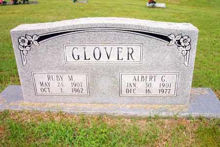GLOVER, RUBY M - Lincoln County, Arkansas | RUBY M GLOVER - Arkansas Gravestone Photos