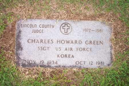 HOWARD GREEN, CHARLES - Lincoln County, Arkansas | CHARLES HOWARD GREEN - Arkansas Gravestone Photos