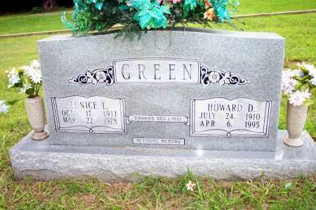 GREEN, HOWARD D - Lincoln County, Arkansas | HOWARD D GREEN - Arkansas Gravestone Photos