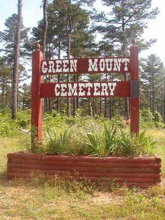 *GREEN MOUNT CEMETERY,  - Lincoln County, Arkansas |  *GREEN MOUNT CEMETERY - Arkansas Gravestone Photos