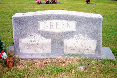 GREEN, SALLIE MAY - Lincoln County, Arkansas | SALLIE MAY GREEN - Arkansas Gravestone Photos
