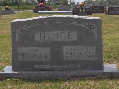 HEDGE, HASSIE - Lincoln County, Arkansas | HASSIE HEDGE - Arkansas Gravestone Photos