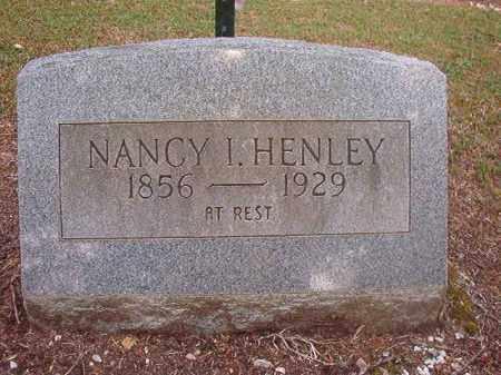 HENLEY, NANCY I - Lincoln County, Arkansas   NANCY I HENLEY - Arkansas Gravestone Photos