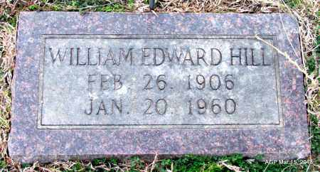 HILL, WILLIAM EDWARD - Lincoln County, Arkansas | WILLIAM EDWARD HILL - Arkansas Gravestone Photos