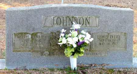 JOHNSON, WILLIE LENARD - Lincoln County, Arkansas   WILLIE LENARD JOHNSON - Arkansas Gravestone Photos