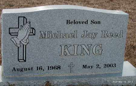 KING, MICHAEL JAY REED - Lincoln County, Arkansas | MICHAEL JAY REED KING - Arkansas Gravestone Photos